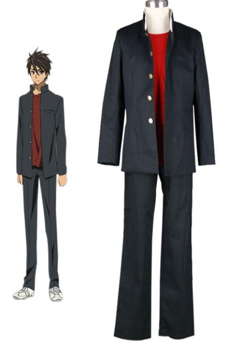 anime Costumes High School of The Dead Maschio Female