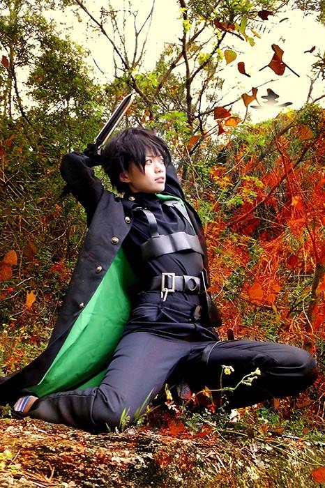 anime Costumes Darker than Black Maschio Female