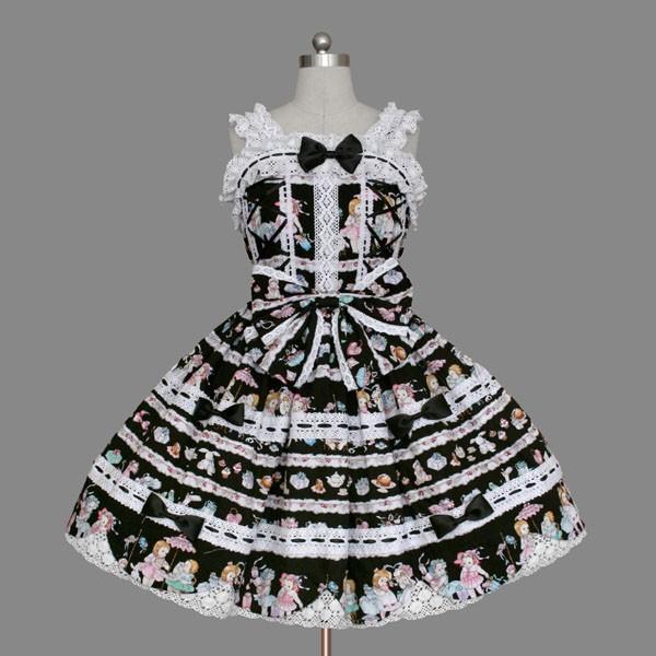 anime Costumes Lolita Dresses Maschio Female